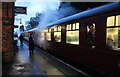 SK5612 : Rothley Station - the train now arrived at Platform 2 by Chris Allen