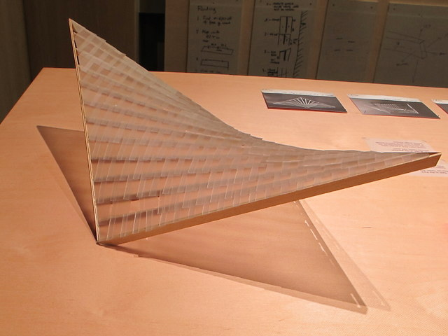 """Architect's model of """"Tent in the Park"""", Design Museum"""