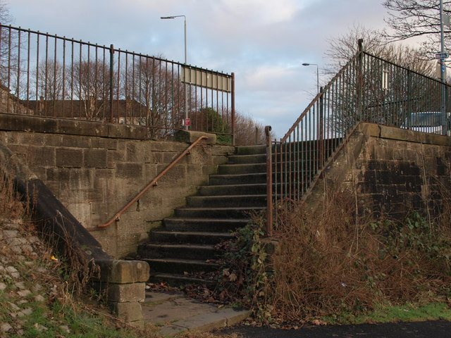 Steps to riverside