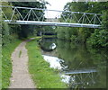 TL0704 : Pipebridge across the Grand Union Canal by Mat Fascione
