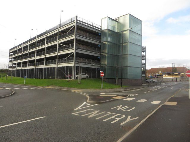 Multi storey car park, Northumberland Park