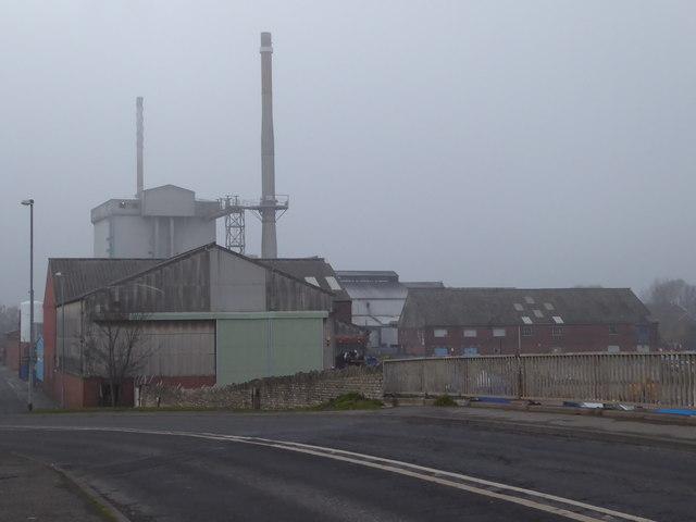 Allied glass works, Knottingley