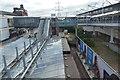 TQ4080 : Customs House DLR Station by N Chadwick
