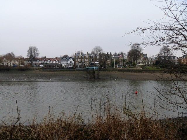 Pier across the river