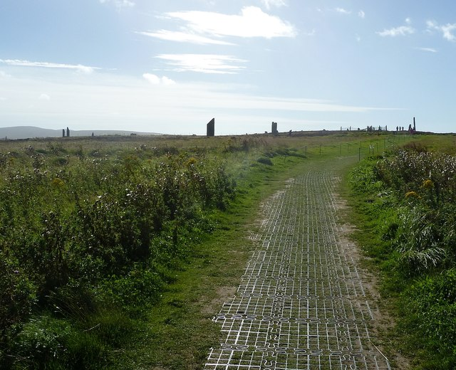 Path to the Ring of Brodgar