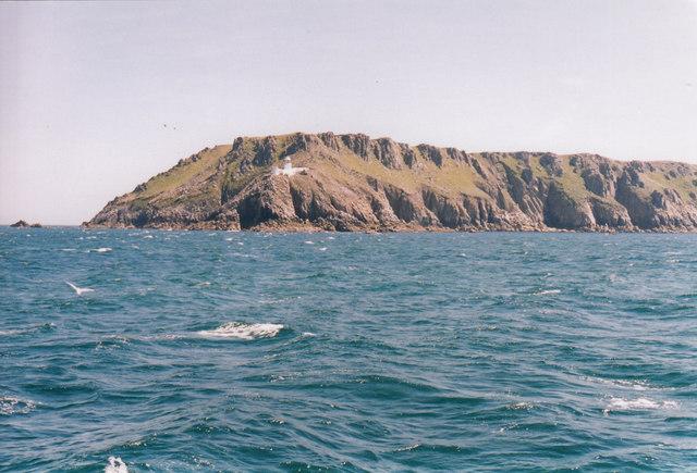 North lighthouse - Lundy Island, North Devon