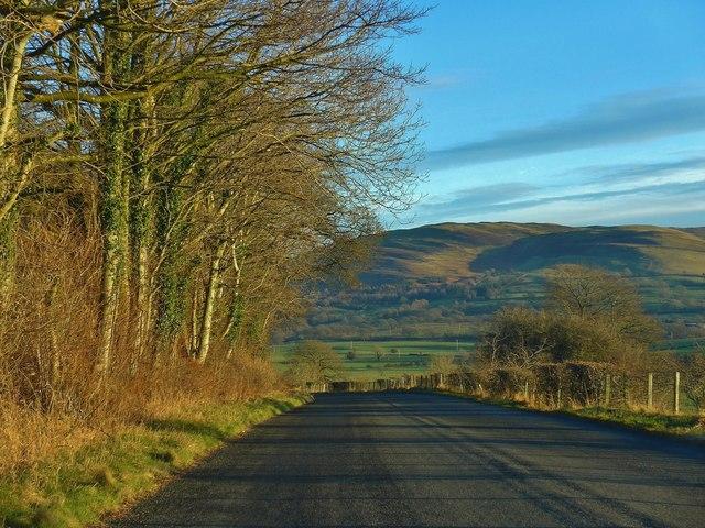 Minor road approaching Lambfoot