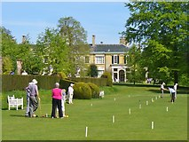 TQ1352 : Polesden Lacey - Croquet by Colin Smith