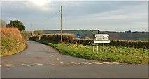 SX0877 : Junction near Trevenning by Derek Harper