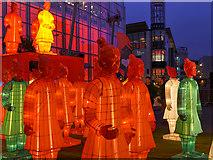 SJ8398 : Lanterns of the Terracotta Army by David Dixon