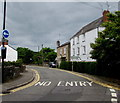 ST5394 : NO ENTRY, St Ann Street, Chepstow by Jaggery