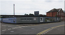 ST5394 : Severn Quay house construction site, Chepstow  by Jaggery