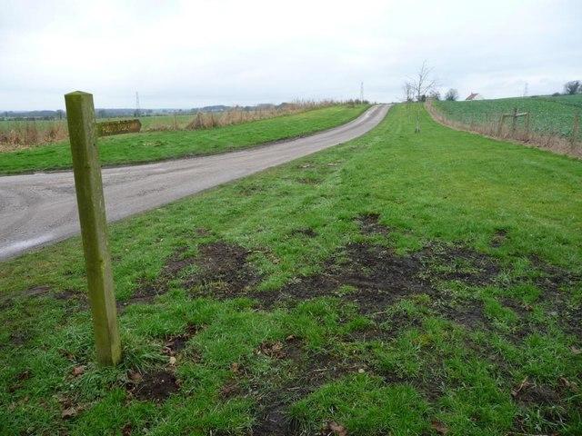 Public bridleway to Bilton in Ainstey