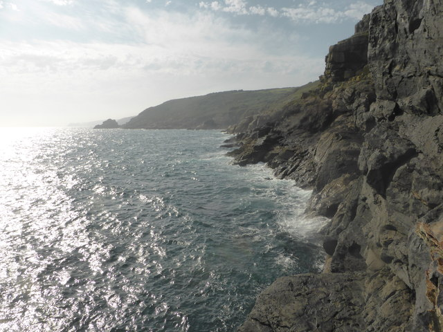 Cliffs at Zawn Gamper