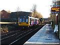 SE2434 : A frosty morning at Bramley station by Stephen Craven