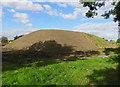 SK6623 : Stockpile of top soil by Andrew Tatlow
