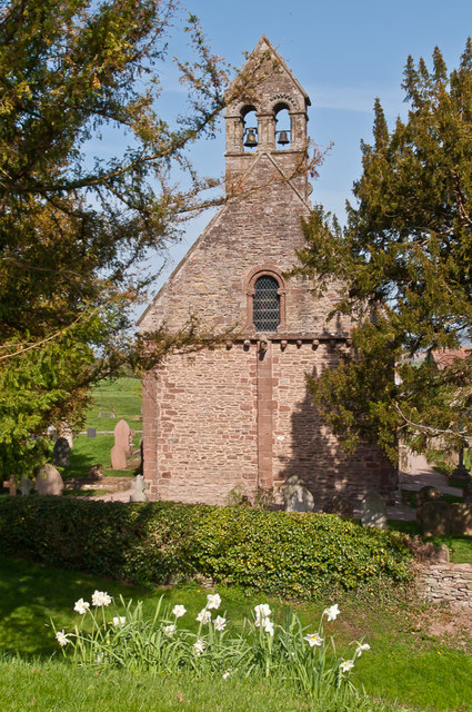St Mary's and St David's Church, Kilpeck
