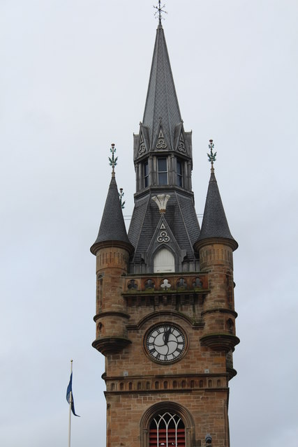 Town Hall Tower, Renfrew