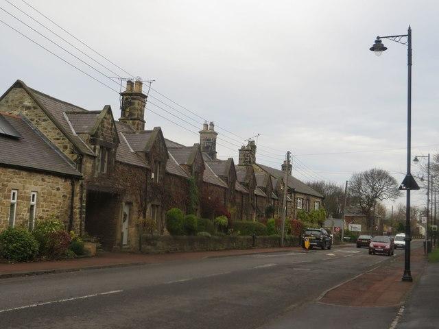 Stone cottages, Backworth Lane, Backworth
