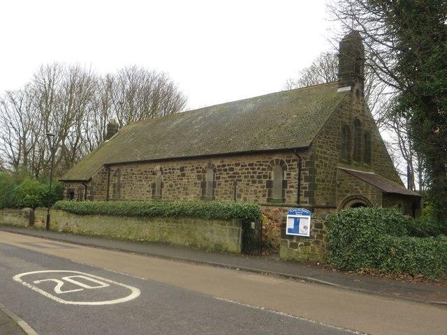 St John's the Baptist Church, Church Road, Backworth