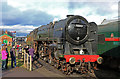 SK5419 : Great Central Railway - Loughborough Station by Chris Allen