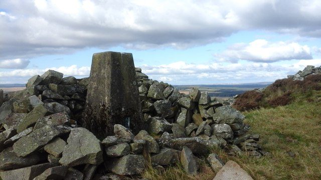 Culvennan Fell trig
