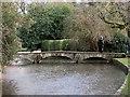 SP1620 : Footbridge, Bourton-on-The-Water by Derek Harper