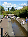 SJ5242 : Grindley Brook Staircase Lock No 2, Shropshire by Roger  Kidd