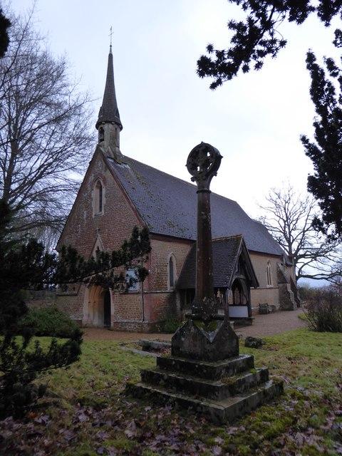 St Andrew Grafham: early February 2017