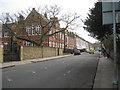 TQ3376 : Southeast on Wilson Road, Camberwell, south London by Robin Stott