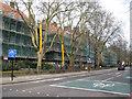 TQ3376 : Refurbishment of Longleigh House, Glebe Estate, Peckham Road, Camberwell, south London by Robin Stott