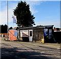 ST3387 : Somerton Road shack, Newport by Jaggery