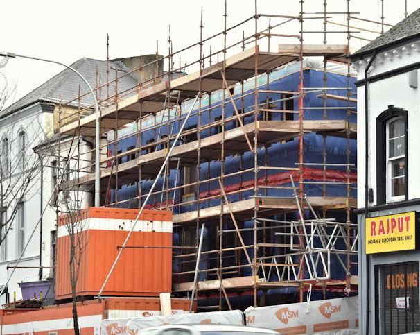 No 138A Lisburn Road (redevelopment), Belfast (February 2017)