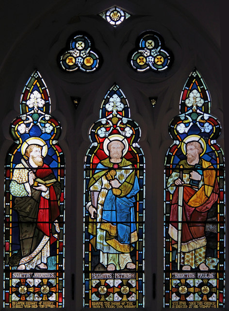 Holy Trinity, Upper Tooting - Stained glass window