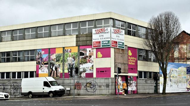 Development site, Lisburn Road/Tate's Avenue, Belfast (February 2017)