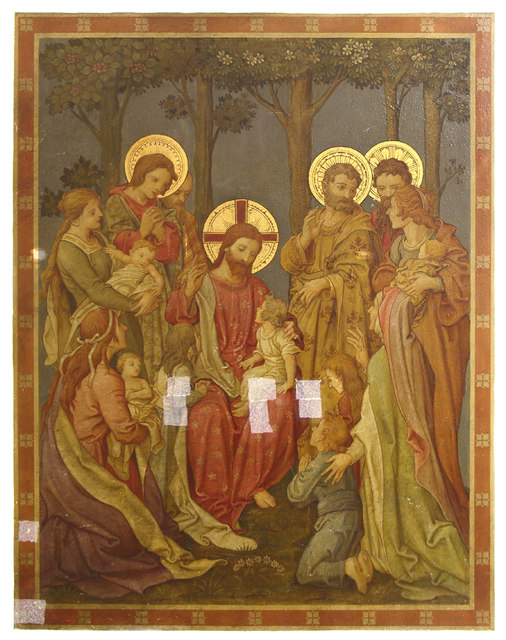 Holy Trinity, Upper Tooting - Wall painting