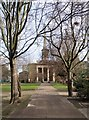 TQ3282 : Church of St Clement with St Barnabas and St Matthew, London EC1 by Julian Osley