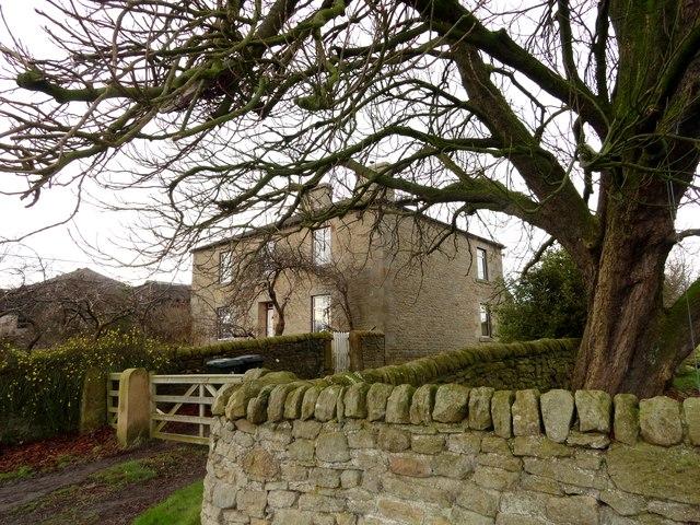The farmhouse at Haugh Farm