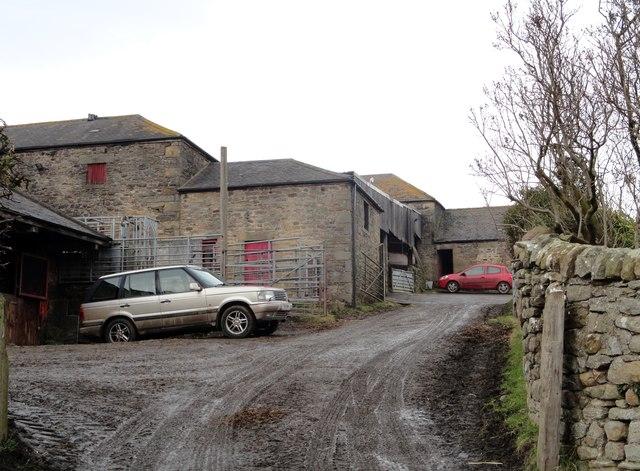 Farmyard at Haugh Farm