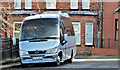 J3372 : Spirit of Ireland minibus, Belfast (February 2017) by Albert Bridge