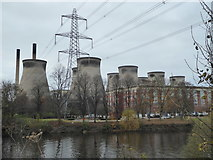 SE4824 : Ferrybridge Power Stations - A & C by Chris Allen