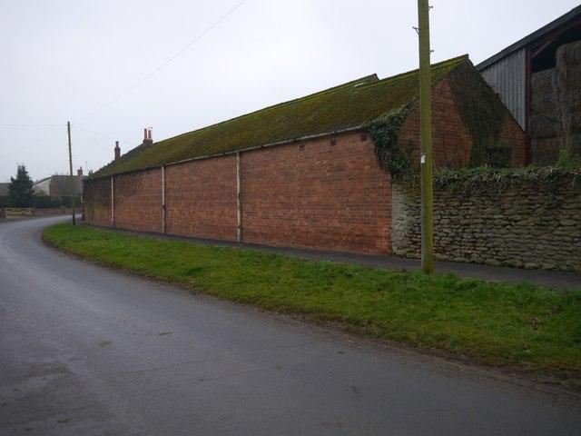 Whitton, a roadside farm building