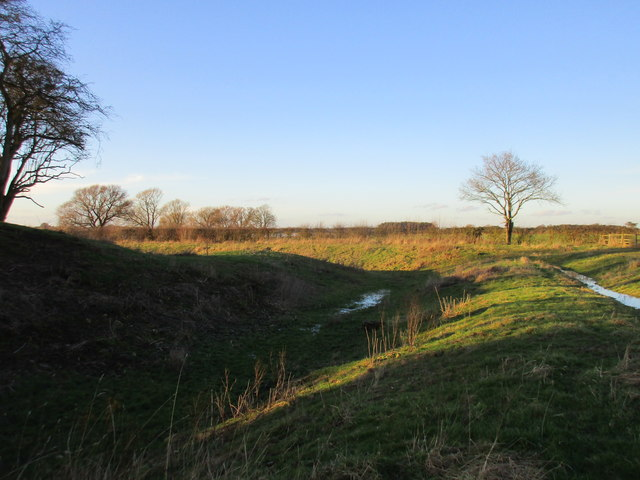 Moat at Aughton