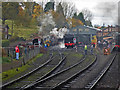 SO7192 : Severn Valley Railway - approaching Bridgnorth Shed by Chris Allen