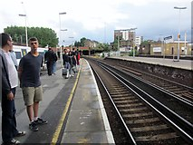 TQ2775 : Clapham Junction Railway Station by Peter Holmes