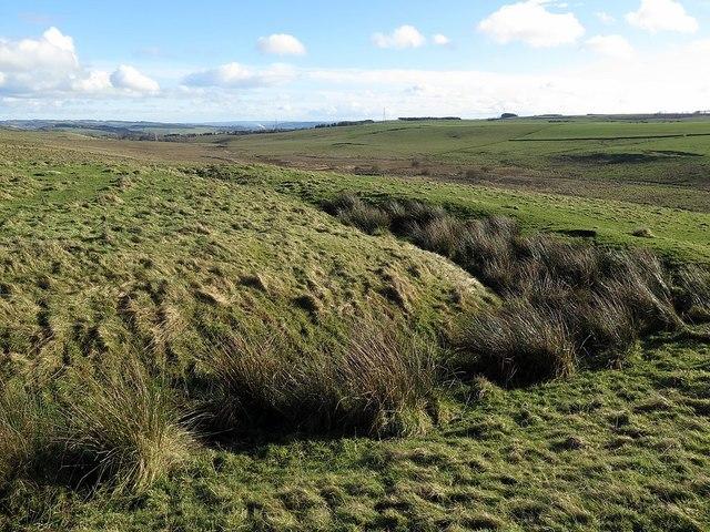 West Howden Hill Romano-British settlement