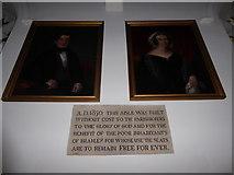 TQ0044 : Inside Holy Trinity, Bramley (I) by Basher Eyre