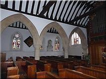 TQ0044 : Inside Holy Trinity, Bramley (IV) by Basher Eyre
