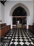 TQ0044 : Inside Holy Trinity, Bramley (VI) by Basher Eyre