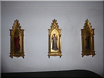 TQ0044 : Inside Holy Trinity, Bramley (IX) by Basher Eyre